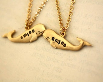 Mini Amies Necklaces Gold
