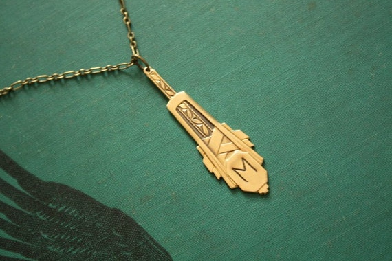 Nouveau Personalized Necklace
