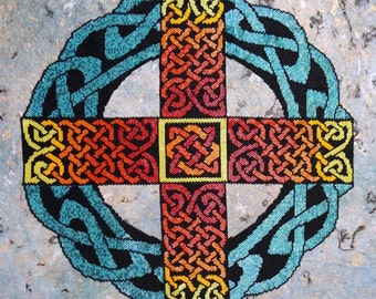 Peyote Stitch Pattern for Celtic Cross (not a necklace)