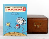 iPad Cover- Charlie Brown's 'Cyclopedia: Featuring Space Travel- device case custom made from recycled book