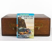 Kindle Cover -The Hardy Boys: The House on the Cliff - made to order device case custom made from recycled book