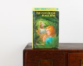 Kindle Cover-Nancy Drew: The Clue of the Black Keys- device case made from recycled book - Kindle Touch, Kindle Fire