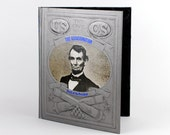 iPad Cover- The Assassination- tablet device case made from recycled vintage book