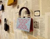 Artomatic 2012 Book Purse - Sense and Sensibility - Journeys Through My Book House - made from recycled vintage book
