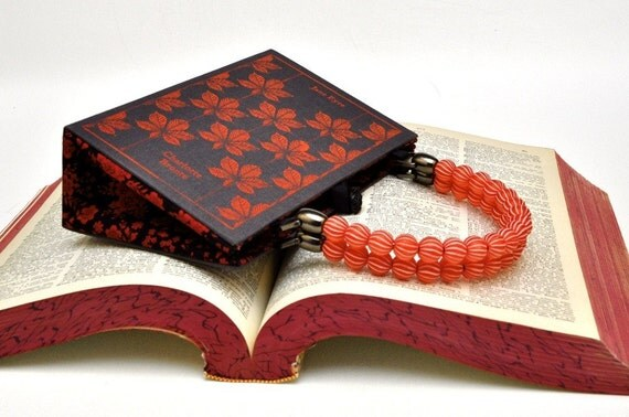 Custom Jane Eyre Book Purse made from recycled book