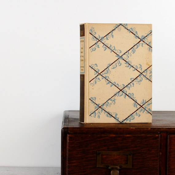 Kindle Cover, Nook Cover -The Way of All Flesh- made to order device case made from recycled vintage book