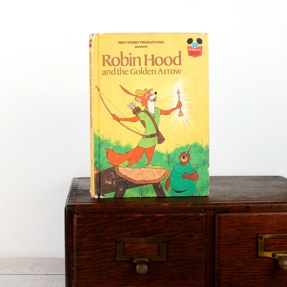 Kindle Cover, Nook Cover -Robin Hood and the Golden Arrow- made to order device case made from recycled vintage book
