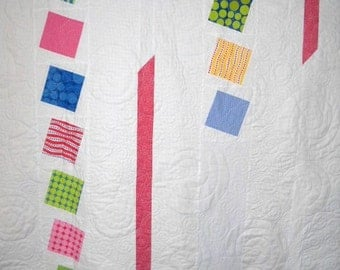 Polka Dots in Spring Quilt