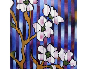Blossom Remix - 8x10 matted print by Joel Traylor
