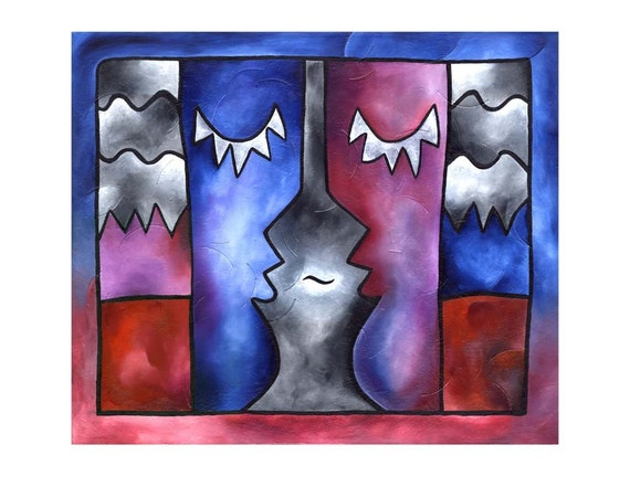 Conversation Peace - 11x14 matted print by Joel Traylor