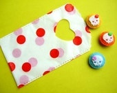 20 Polka Dot Red Mini Plastic Bag (limited stock)