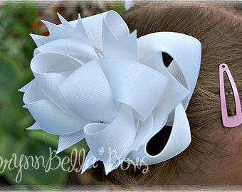 3 Custom Boutique Layered Hair Bows