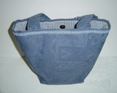 OOAK Shoulder Bag in Colonial Blue (2003)