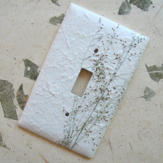 Baby's Breath Nature Switch Plate