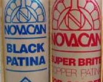 PATINA COMBO- Copper and Black Patina. 4 oz.ea.  Change solder to black, copper or Antique