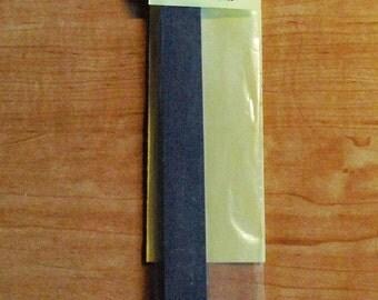 Glass Wipe Edging Stone 3/4 x 6 FINE GRIT Grinding Stone (Carborundum) ... Won't chip glass edges.