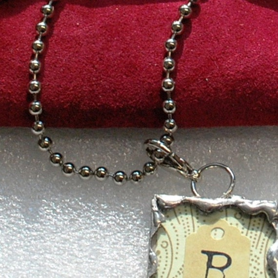 Ball Chain (5 feet) Shiny Nickel Plated (shiny Silver). Perfect size for PENDANT Solder Art Memory Glass Jewelry.
