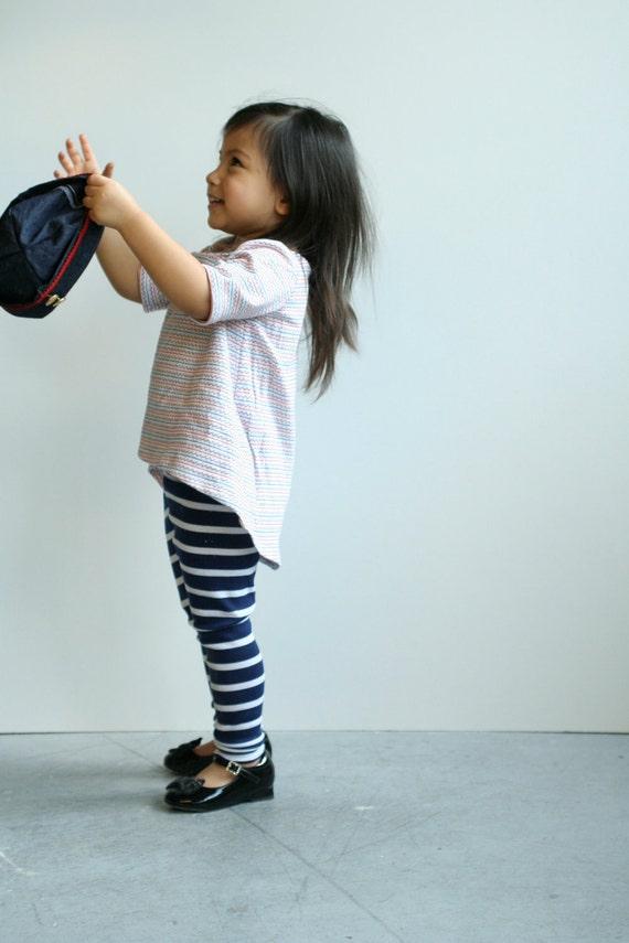 nautical anchor zig zag asymmetrical hem shirt Supayana baby toddler