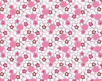 Harmony Art Sweet Jane Organic Cotton Sateen Fabric 60 inches