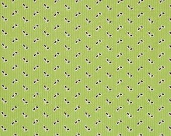 Denyse Schmidt Flea Market Fancy Legacy Collection Green Eyelet cotton Fabric by the yard