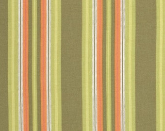 Amy Butler Gypsy Caravan Gypsy Hammock Stripe Pesto cotton Fabric by the yard