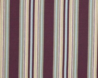 Amy Butler Gypsy Caravan Gypsy Hammock Stripe Wine cotton Fabric by the yard
