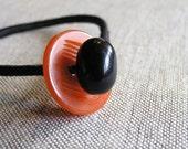 Bakelite Button Bracelet