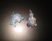 Dolphin and Turtle beads reserved for TRIPLEWILLOW