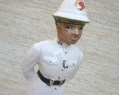 Nassau Uniformed Policeman Vintage Figurine Collectible Souvenir