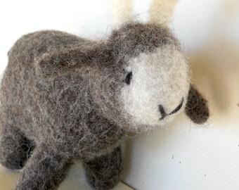 Waldorf Eco Kids Toy - Goat - Custom Knit