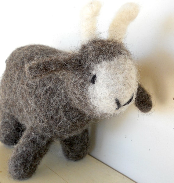 Waldorf Eco Kids Toy - Goat - Custom Knit