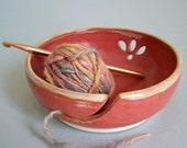 Yarn Bowl Handthrown Stoneware - 193