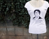 Seconds SALE - Size XL- Mr. Darcy sketch shirt - Jane Austen - Pride and Prejudice