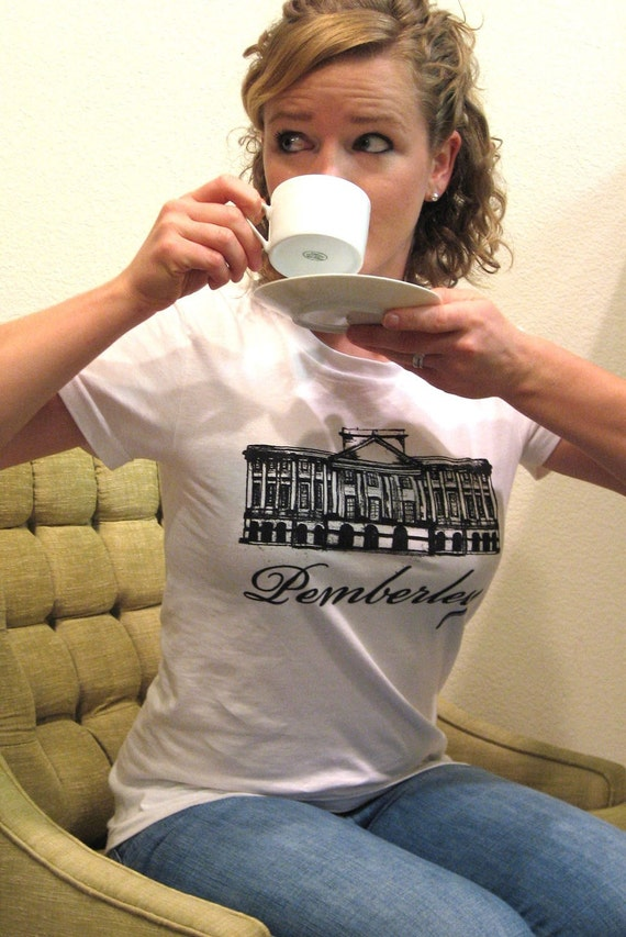 RESERVED for rachelakgarrett - MEDIUM  - Pemberley organic T Shirt