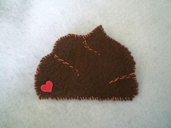 poo pooh poop patch or pin