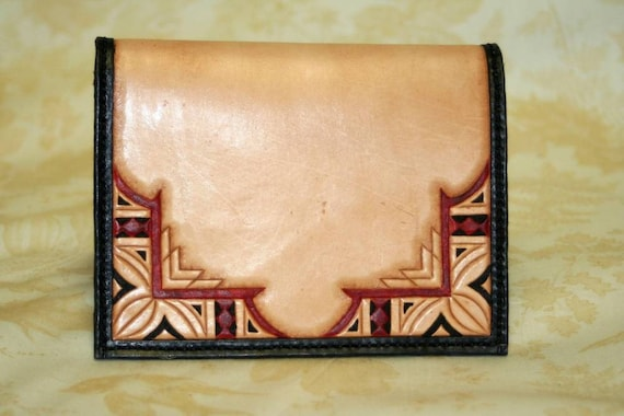Hand Tooled Passport Wallet