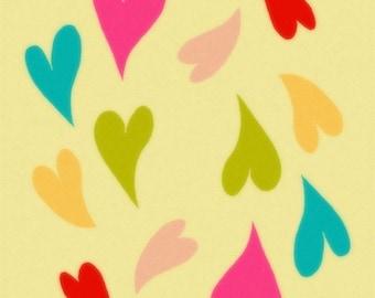 Studio Mela - Cutest Illustration Art Print - You Make My Heart Happy by Shelli Dorfe