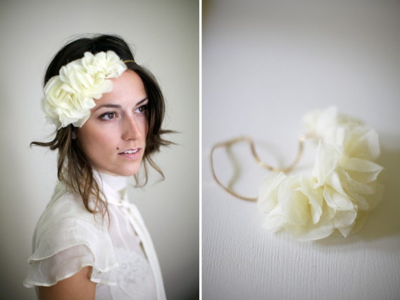 RESERVED for haleyhiggins: Miss Ollie // Chiffon Sequin Headband
