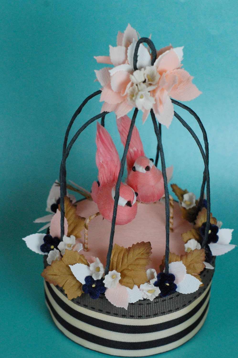 birdcage wedding cake topper bird cage cake topper 11785