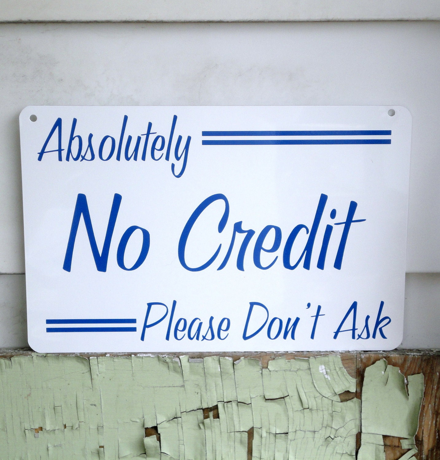NO CREDIT Sign Of The Times