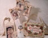 PDF Christmas Treasures Tutorial no shipping cost