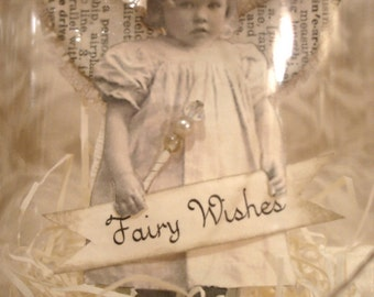 PDF Fairy in a Jar Tutorial no shipping cost