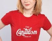Capitalism Corrupt T-Shirt