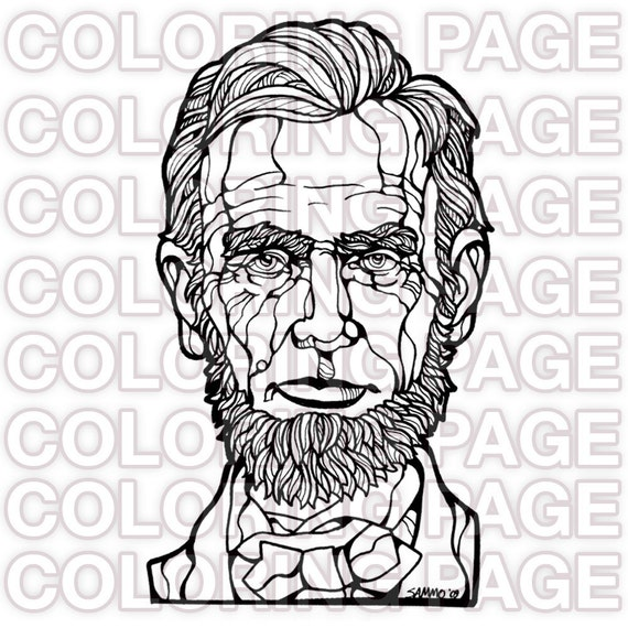 abe lincoln coloring pages printable - photo#43