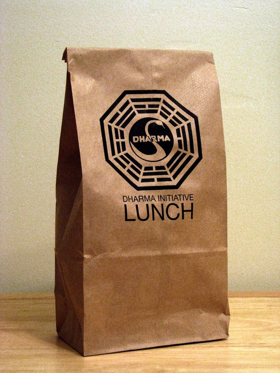 5 - LOST TV Show - Dharma Initiative Lunch Bags