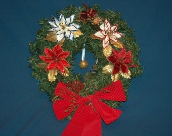 Decorative Christmas/ Holiday Wreath    HC20PRBW2