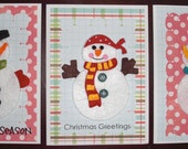 Snowman Cards Gift Set