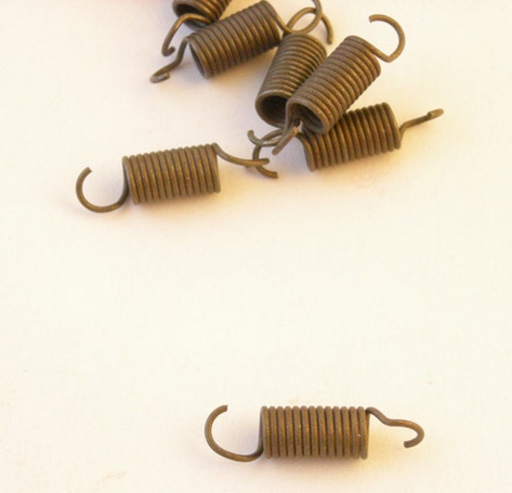 Dozen small tarnished metal springs for jewelry by for Jewelry supply colorado springs