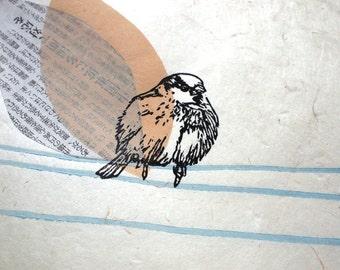 sparrow - original print - LIMITED EDITION