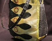 Egyptian Motif Purse - Recycled Plastics - on Sale...HALF PRICE for a limited time